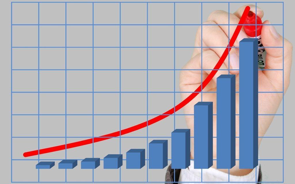 ネットビジネスの収入は二次関数的に伸びる