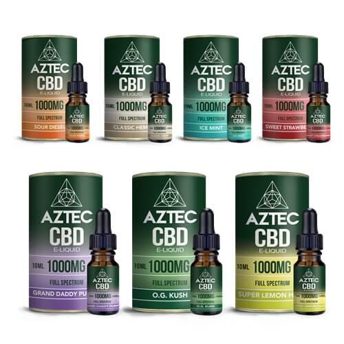 AZTEC(アステカ)のCBDリキッドが素晴らしい理由【口コミあり】