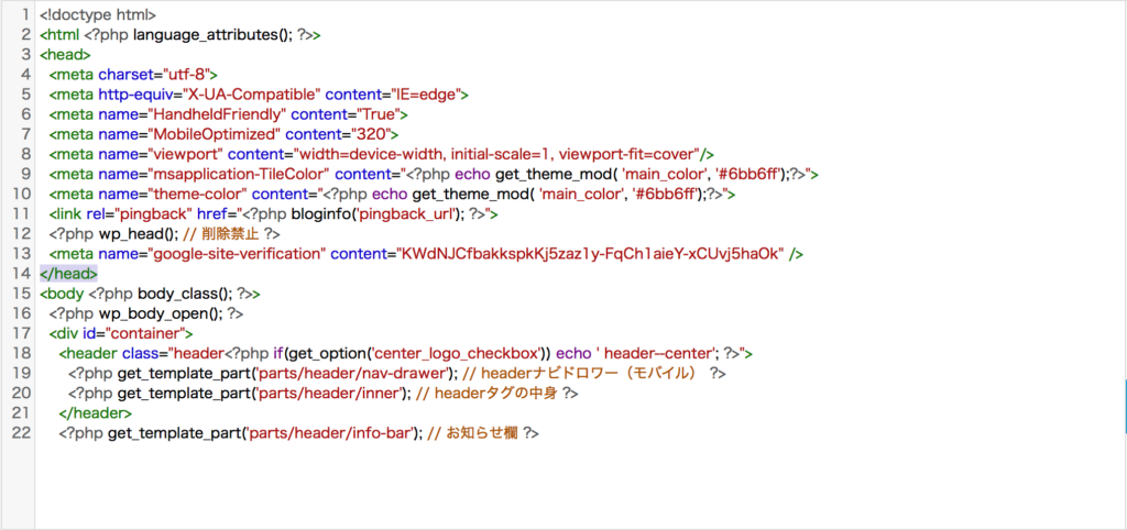 SANGOのHTMLコピペ後の画像