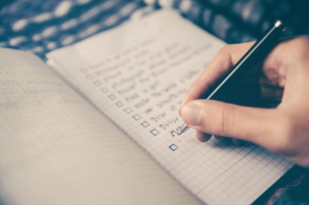ブログが書けない原因のチェックリスト【5コ用意しました】